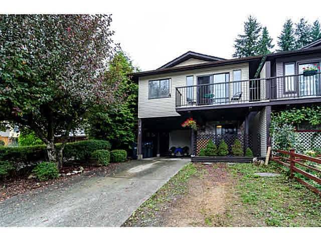 """Main Photo: 1436 PITT RIVER Road in Port Coquitlam: Mary Hill 1/2 Duplex for sale in """"MARY HILL"""" : MLS®# V1130423"""