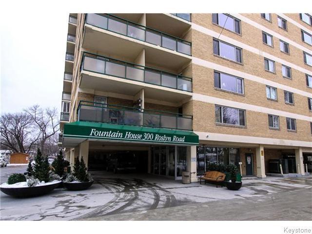 Main Photo: 300 Roslyn Road in Winnipeg: Fort Rouge / Crescentwood / Riverview Condominium for sale (South Winnipeg)  : MLS®# 1603708