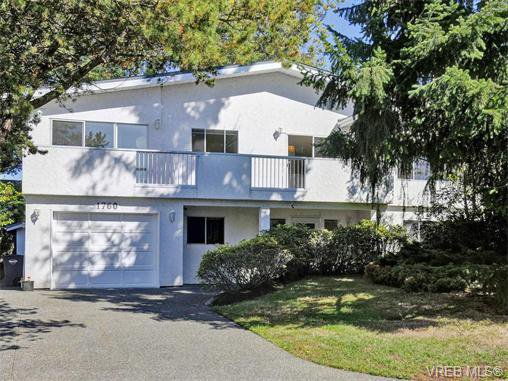 Main Photo: 1760 Triest Cres in VICTORIA: SE Gordon Head Single Family Detached for sale (Saanich East)  : MLS®# 742971