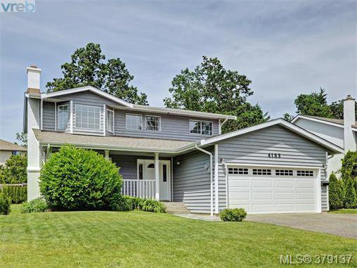Main Photo: 4183 Tuxedo Drive in VICTORIA: SE Lake Hill Single Family Detached for sale (Saanich East)  : MLS®# 379137