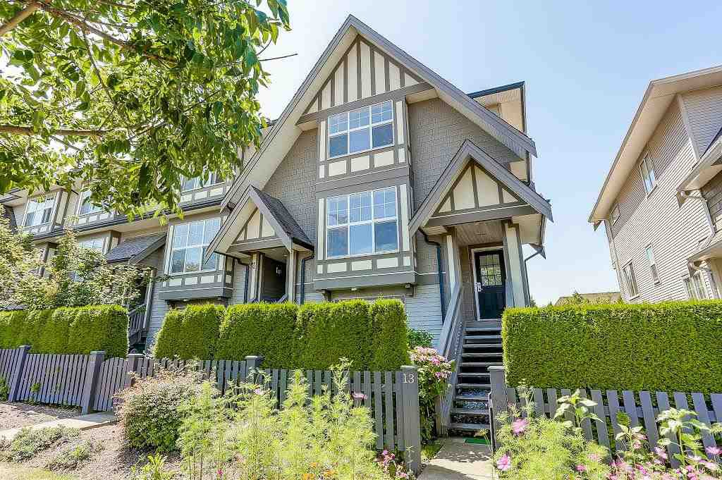 """Main Photo: 13 8089 209 Street in Langley: Willoughby Heights Townhouse for sale in """"Arborel Park"""" : MLS®# R2188165"""