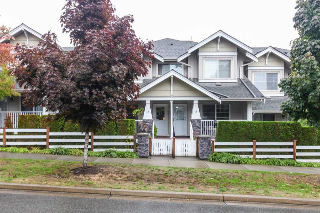 Photo 1: Photos: 46 6568 193B Street in Surrey: Clayton Townhouse for sale (Cloverdale)  : MLS®# R2305531