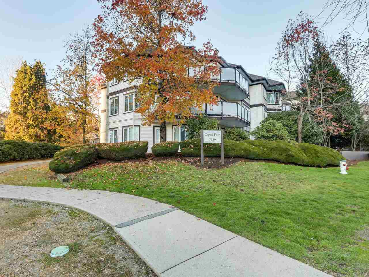 """Main Photo: 308 7139 18TH Avenue in Burnaby: Edmonds BE Condo for sale in """"CRYSTAL GATE"""" (Burnaby East)  : MLS®# R2326484"""