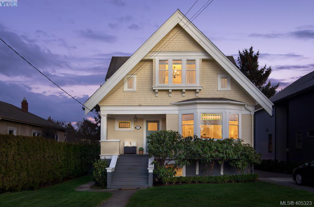 Main Photo: 119 Moss Street in VICTORIA: Vi Fairfield West Single Family Detached for sale (Victoria)  : MLS®# 405323