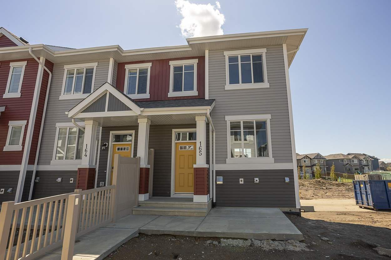Main Photo: 165 2905 141 Street in Edmonton: Zone 55 Townhouse for sale : MLS®# E4192759