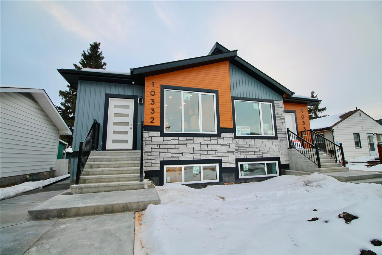 Main Photo: 10332 159 Street in Edmonton: Zone 21 House Half Duplex for sale : MLS®# E4224063