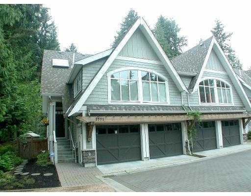 """Main Photo: 3771 EDGEMONT BV in North Vancouver: Capilano Highlands Townhouse for sale in """"THE CRESCENT"""" : MLS®# V563840"""