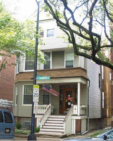 Main Photo: 3824 Damen Avenue in CHICAGO: CHI - North Center Multi Family (2-4 Units) for sale ()  : MLS®# 08887202
