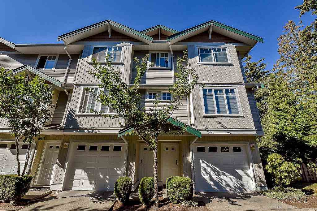 "Main Photo: 114 12711 64 Avenue in Surrey: West Newton Townhouse for sale in ""PALETTE ON THE PARK"" : MLS®# R2102037"
