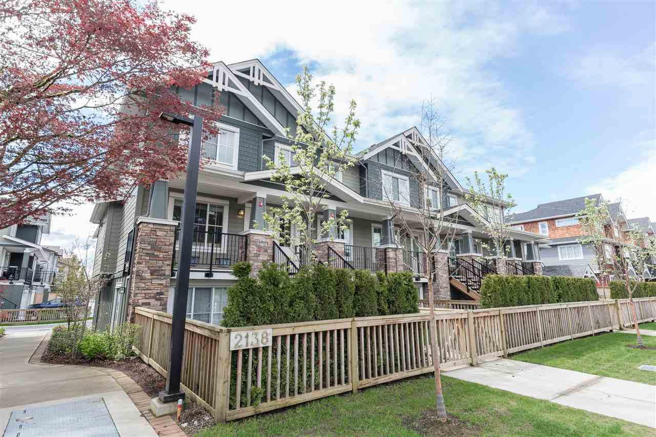 "Main Photo: 40 2138 SALISBURY Avenue in Port Coquitlam: Glenwood PQ Townhouse for sale in ""Salisbury Lane"" : MLS®# R2158679"