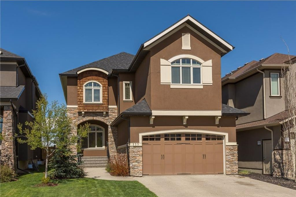 Main Photo: 123 WENTWORTH Hill(S) SW in Calgary: West Springs House for sale : MLS®# C4118086