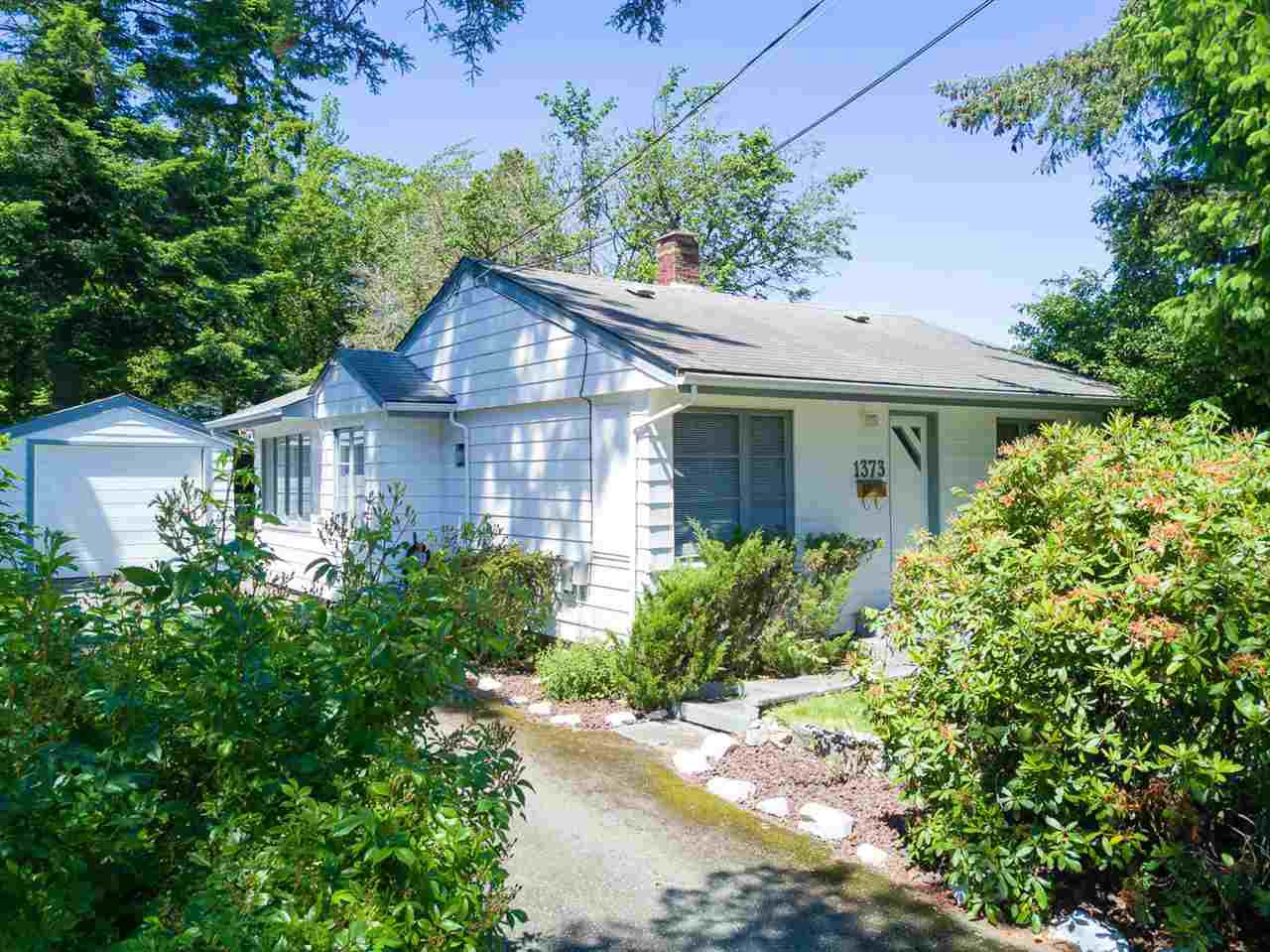 Main Photo: 1373 STAYTE Road: White Rock House for sale (South Surrey White Rock)  : MLS®# R2171871