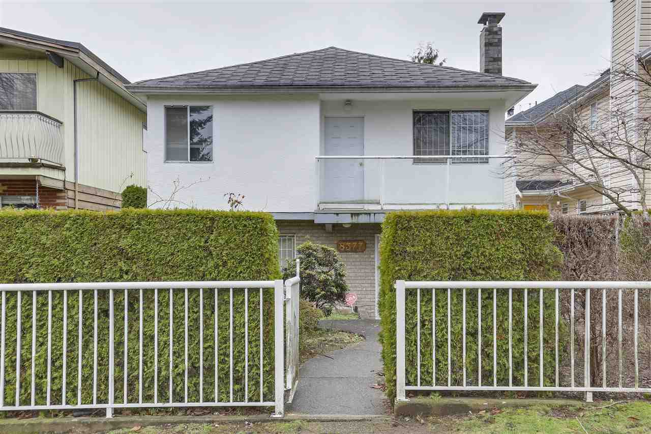 "Main Photo: 8377 LAUREL Street in Vancouver: Marpole House for sale in ""MARPOLE"" (Vancouver West)  : MLS®# R2239238"