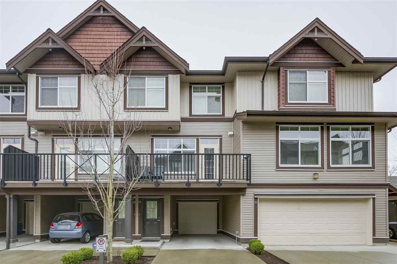 Main Photo: 29 7332 194A STREET in Surrey: Clayton Townhouse for sale (Cloverdale)  : MLS®# R2254716