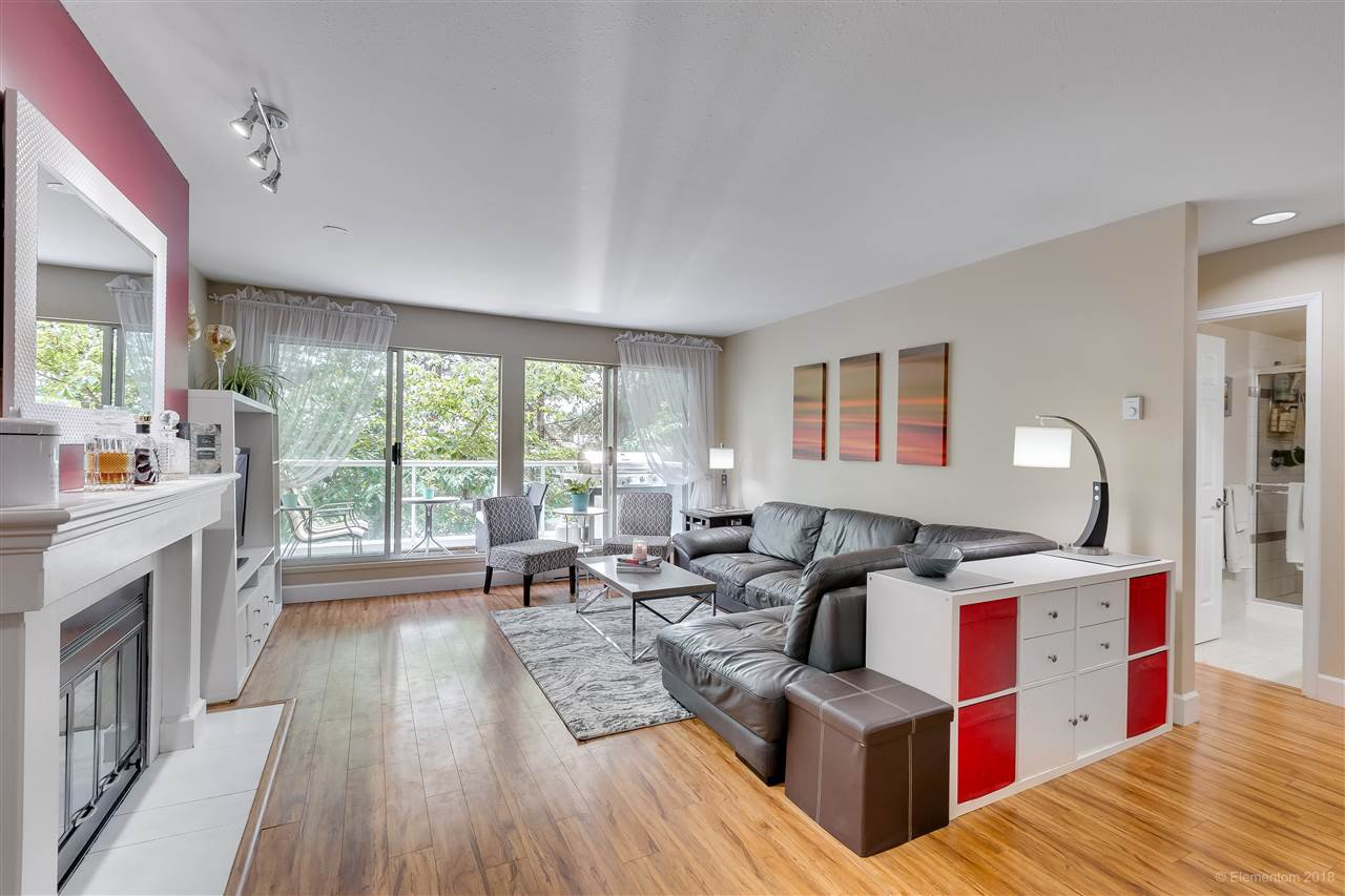"""Main Photo: 201 2733 ATLIN Place in Coquitlam: Coquitlam East Condo for sale in """"Atlin Court"""" : MLS®# R2295428"""