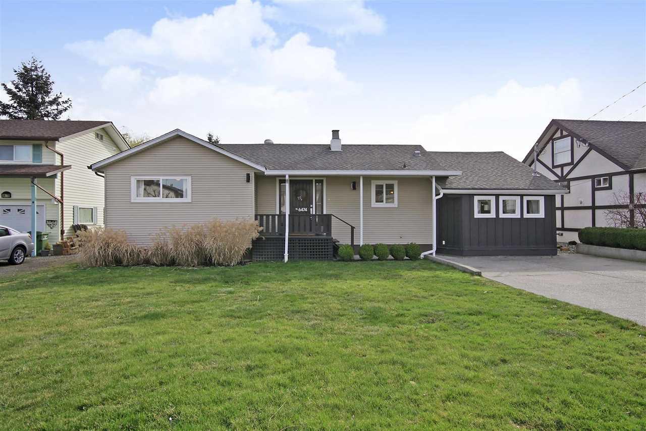 Main Photo: 6474 REID Road in Sardis: Sardis West Vedder Rd House for sale : MLS®# R2352337