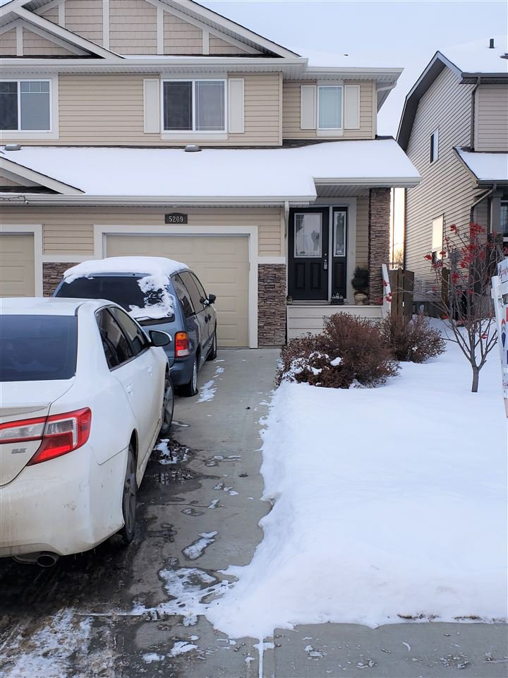 Main Photo: 5209 168 Avenue in Edmonton: Zone 03 House Half Duplex for sale : MLS®# E4174412