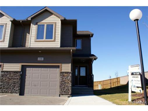 Main Photo: 116 4100 SANDHILL Crescent in Regina: The Creeks Semi-Detached for sale (Regina Area 04)  : MLS®# 515973