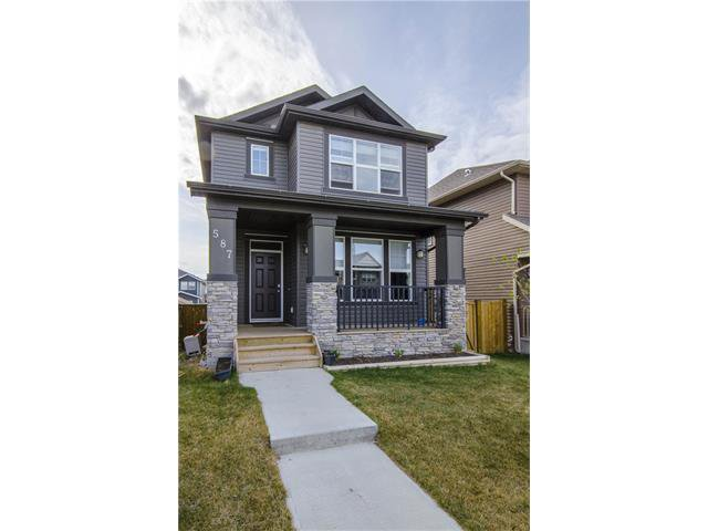 Main Photo: 587 EVANSTON Drive NW in Calgary: Evanston House for sale : MLS®# C4060637