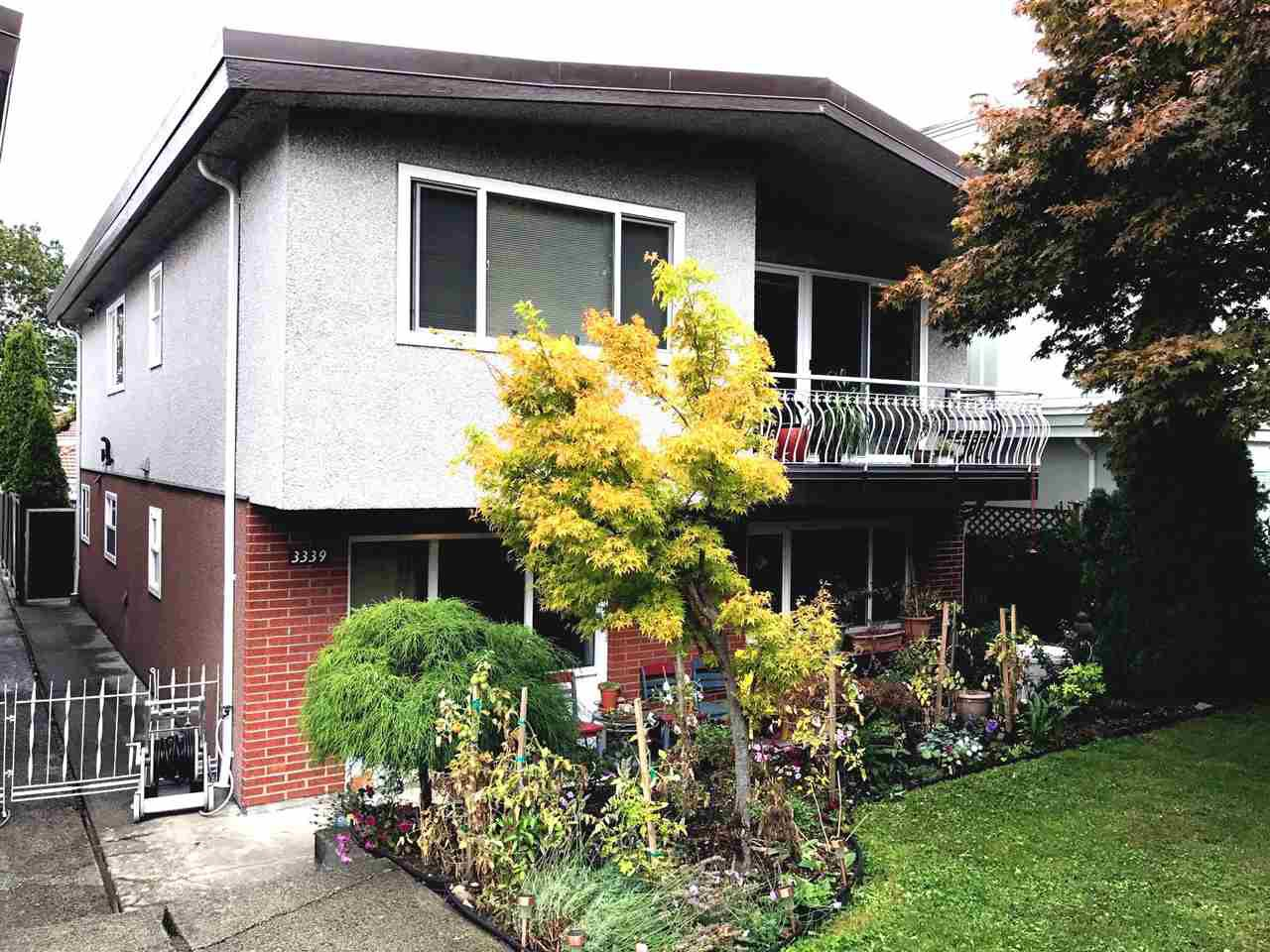 Main Photo: 3339 E 23RD Avenue in : Renfrew Heights House for sale (Vancouver East)  : MLS®# R2209478
