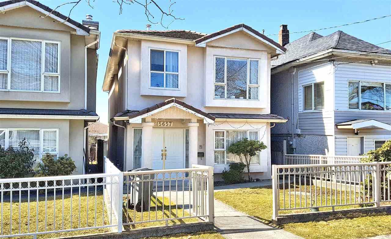 """Main Photo: 5657 KERR Street in Vancouver: Collingwood VE House for sale in """"Collingwood"""" (Vancouver East)  : MLS®# R2384595"""