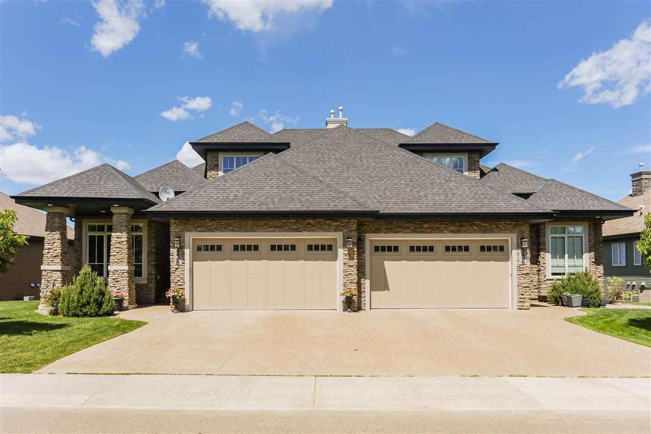 Main Photo: 238 AMBLESIDE Drive in Edmonton: Zone 56 House Half Duplex for sale : MLS®# E4174559