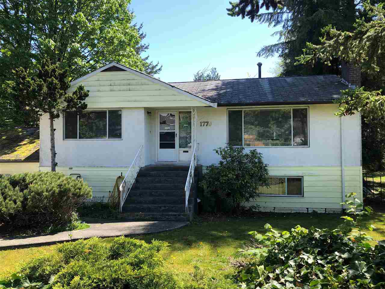 Main Photo: 1770 RIDEAU Avenue in Coquitlam: Central Coquitlam House for sale : MLS®# R2420643