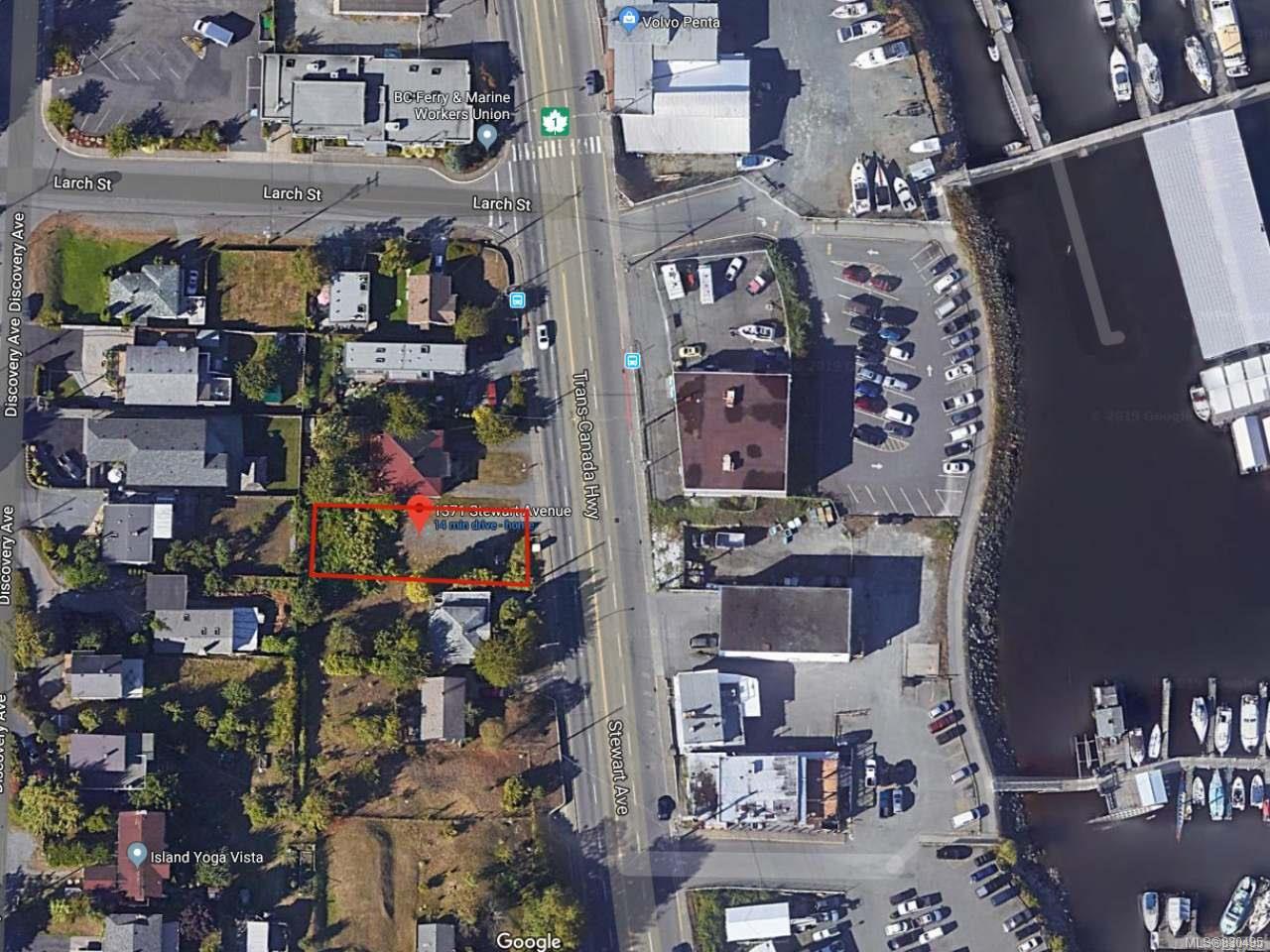 Main Photo: 1371 Stewart Ave in NANAIMO: Na Brechin Hill Land for sale (Nanaimo)  : MLS®# 830495