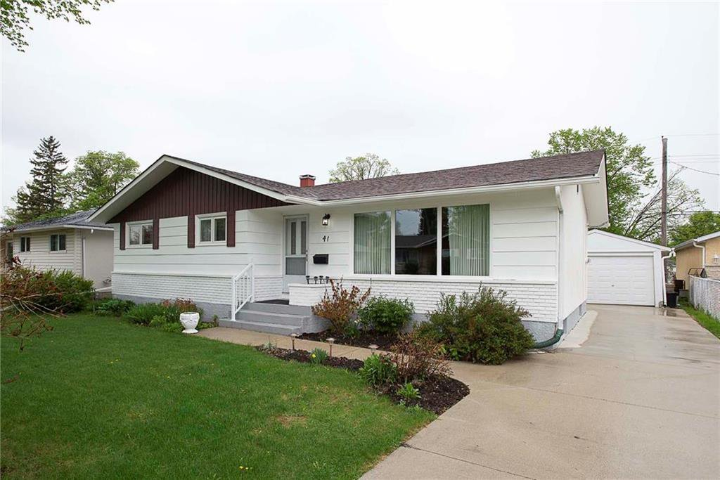 Main Photo: 41 Cabot Crescent in Winnipeg: Pulberry Residential for sale (2C)  : MLS®# 202011404