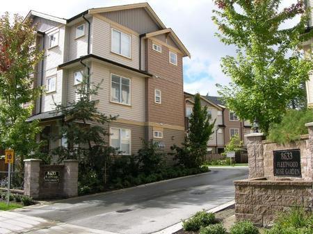 Main Photo: # 14 8633 159th Street, Surrey, B.C. in Surrey: Condo for sale (Canada)  : MLS®# F1126981