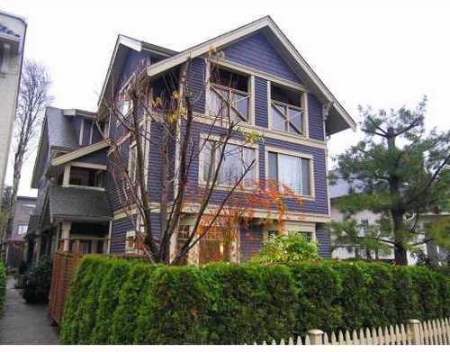 Main Photo: 1654 West 10th Avenue in Vancouver West: Fairview VW Home for sale ()  : MLS®# V798938