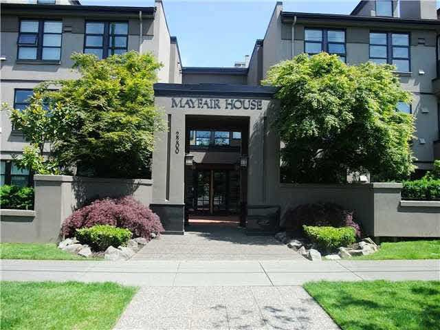 """Main Photo: 302 2200 HIGHBURY Street in Vancouver: Point Grey Condo for sale in """"MAYFAIR HOUSE"""" (Vancouver West)  : MLS®# V1094370"""