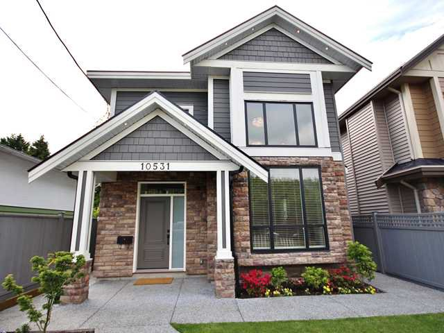 Main Photo: 10531 NO 1 Road in Richmond: Steveston North House for sale : MLS®# V1121985