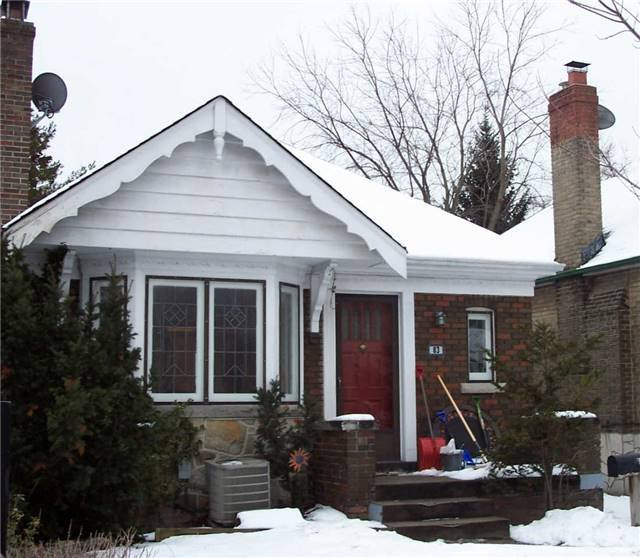 Main Photo: #1 83 Vanderhoof Avenue in Toronto: Leaside House (Bungalow) for lease (Toronto C11)  : MLS®# C3428105