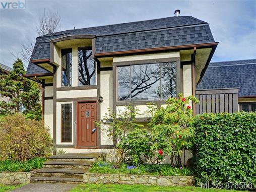 Main Photo: 6 1464 Fort Street in VICTORIA: Vi Fernwood Townhouse for sale (Victoria)  : MLS®# 376506