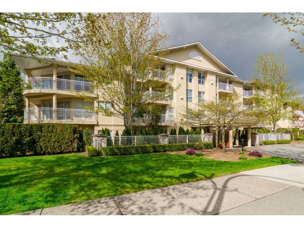 "Main Photo: 412 13727 74 Avenue in Surrey: East Newton Condo for sale in ""King's Court"" : MLS®# R2157470"
