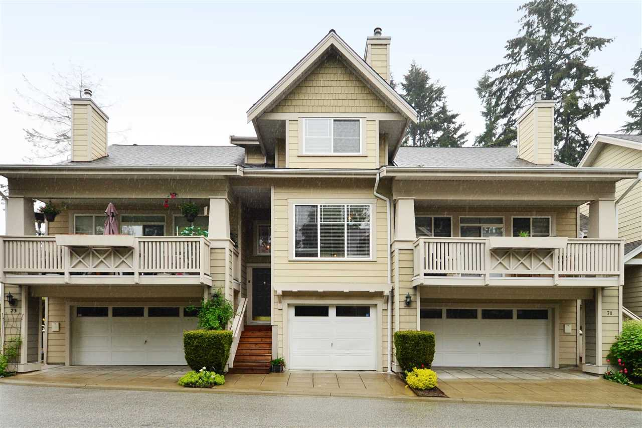 """Main Photo: 72 2588 152 Street in Surrey: King George Corridor Townhouse for sale in """"Woodgrove"""" (South Surrey White Rock)  : MLS®# R2162320"""