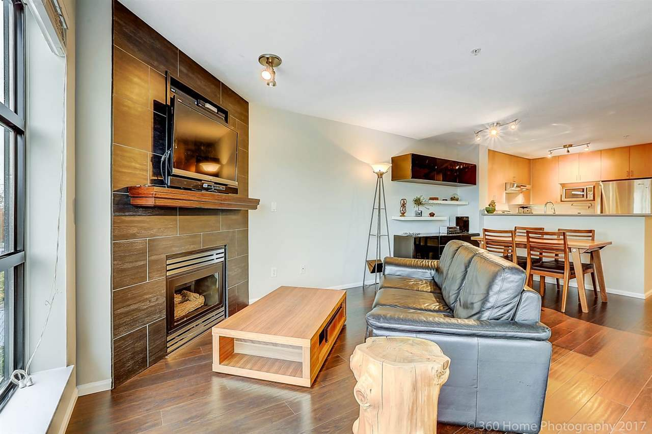 """Main Photo: 410 124 W 3RD Street in North Vancouver: Lower Lonsdale Condo for sale in """"THE VOGUE"""" : MLS®# R2215946"""