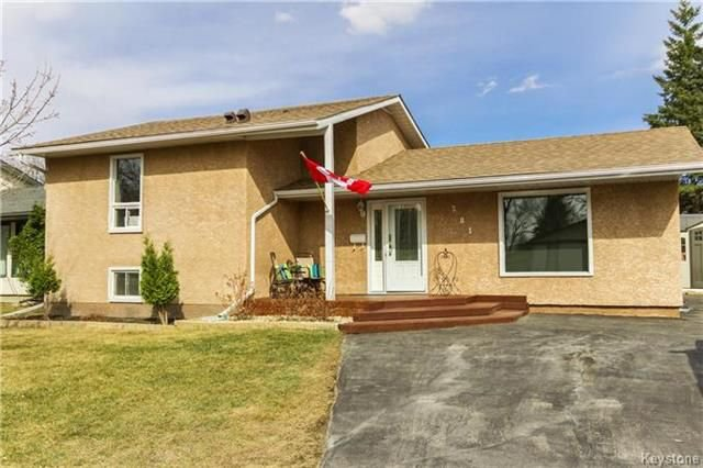 Main Photo: 281 Stradford Street in Winnipeg: Crestview Residential for sale (5H)  : MLS®# 1809791