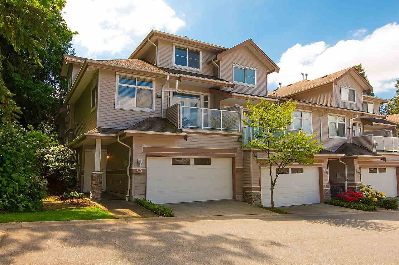"Main Photo: 40 11860 RIVER Road in Surrey: Royal Heights Townhouse for sale in ""Cypress Ridge"" (North Surrey)  : MLS®# R2267961"