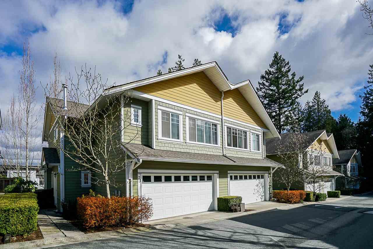"Main Photo: 23 6110 138 Street in Surrey: Sullivan Station Townhouse for sale in ""Seneca Woods"" : MLS®# R2454674"