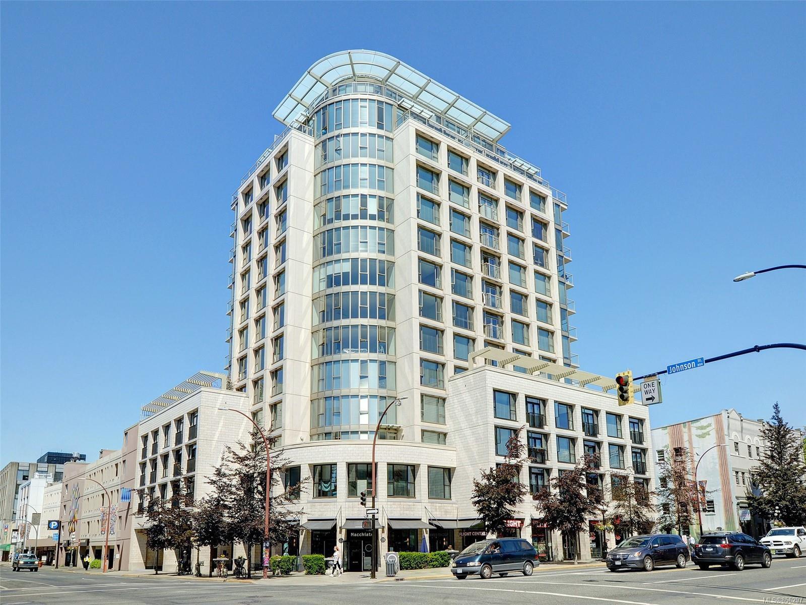 Main Photo: 408 760 Johnson St in : Vi Downtown Condo for sale (Victoria)  : MLS®# 856297
