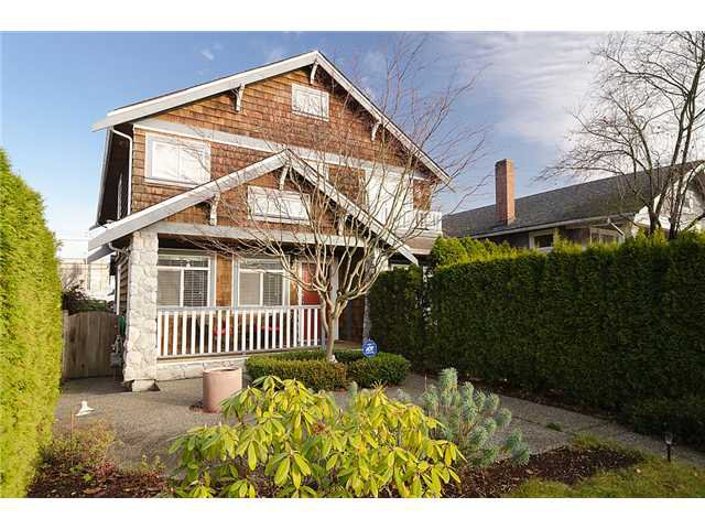 Main Photo: 2961 W 5TH Avenue in Vancouver: Kitsilano 1/2 Duplex for sale (Vancouver West)  : MLS®# V920656