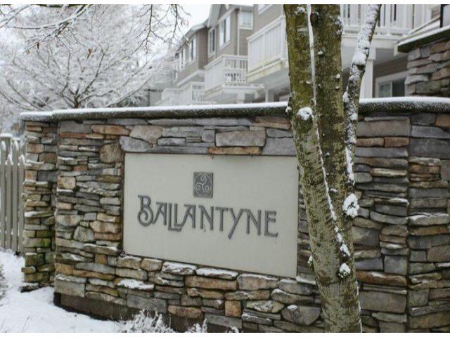 "Main Photo: 70 8775  161ST ST in Surrey: Fleetwood Tynehead Townhouse for sale in ""Ballantyne"" : MLS®# F1300787"