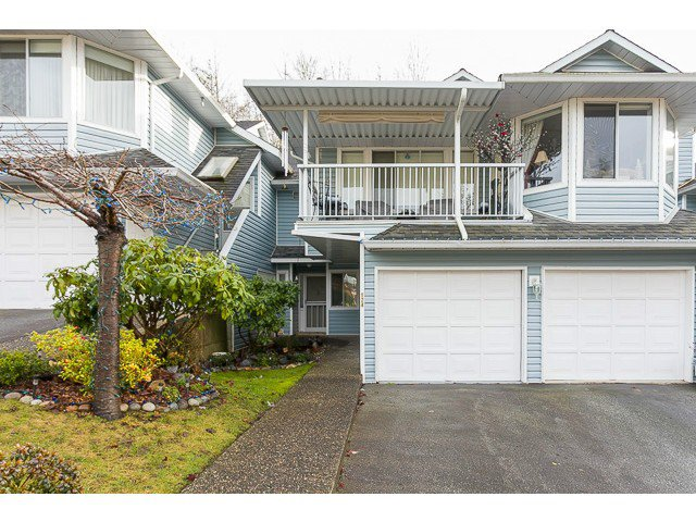 "Main Photo: 124 22555 116TH Avenue in Maple Ridge: East Central Townhouse for sale in ""FRASER VIEW VILLAGE"" : MLS®# V1062941"