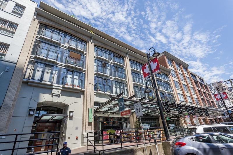 Photo 1: Photos: 408 1275 HAMILTON STREET in Vancouver: Yaletown Condo for sale (Vancouver West)  : MLS®# R2184134