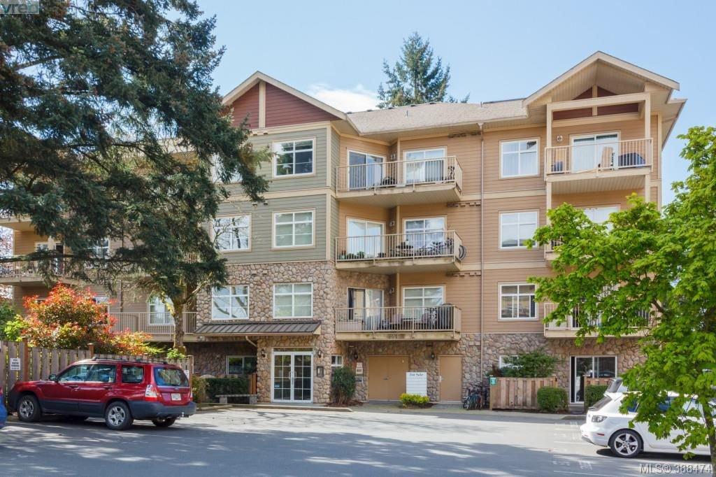 Main Photo: 404 821 Goldstream Avenue in VICTORIA: La Langford Proper Condo Apartment for sale (Langford)  : MLS®# 388474