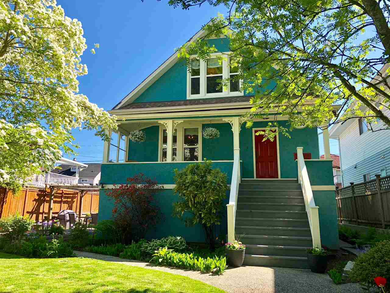Main Photo: 1870 E 33RD Avenue in Vancouver: Victoria VE House for sale (Vancouver East)  : MLS®# R2273629