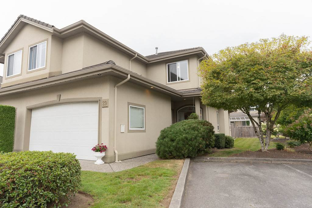 """Main Photo: 29 998 RIVERSIDE Drive in Port Coquitlam: Riverwood Townhouse for sale in """"PARKSIDE PLACE"""" : MLS®# R2310532"""