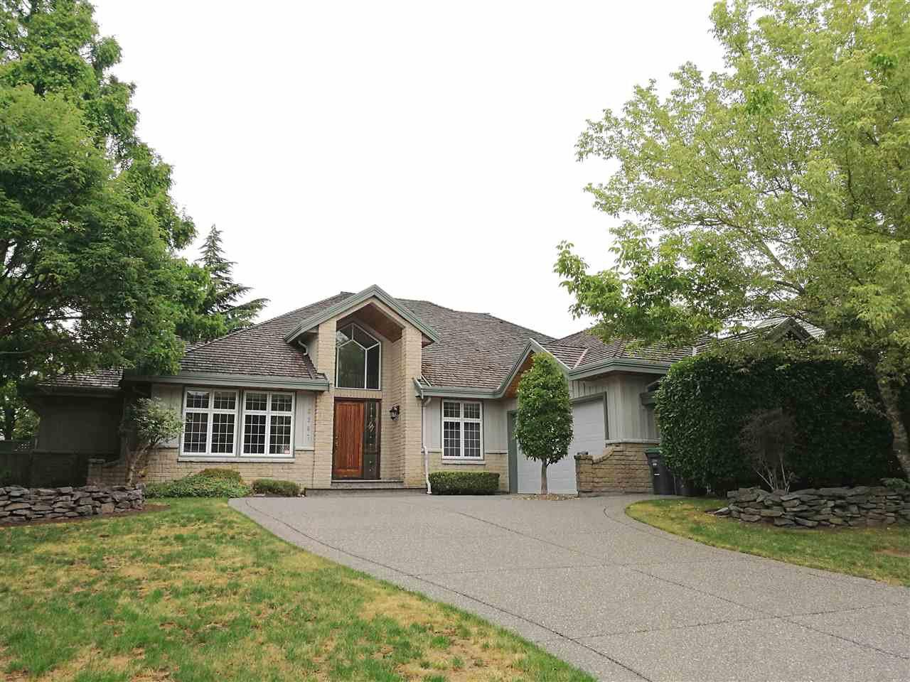 Main Photo: 16267 MORGAN CREEK Crescent in Surrey: Morgan Creek House for sale (South Surrey White Rock)  : MLS®# R2385961